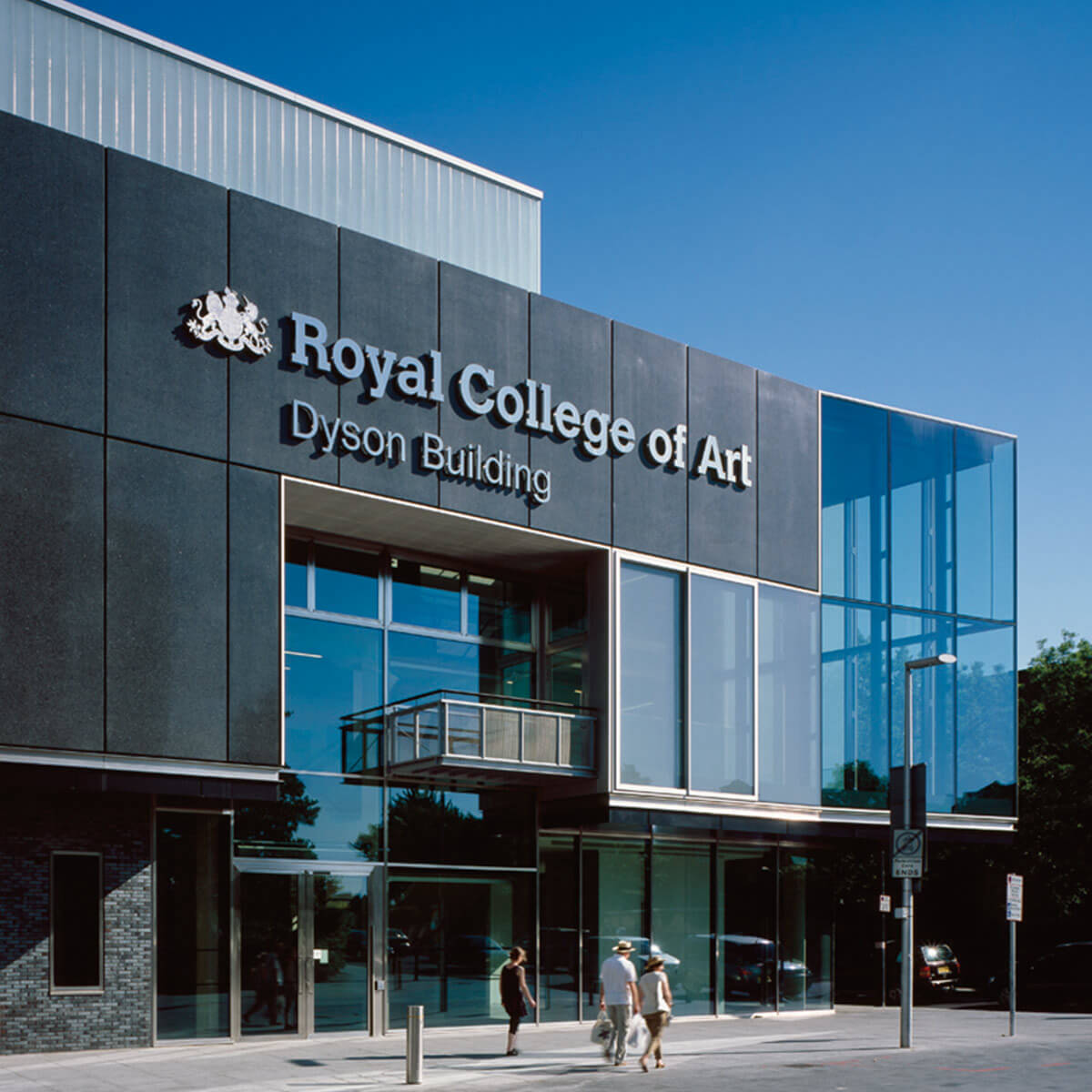 The Dyson Building at the Royal College of Art, UK.